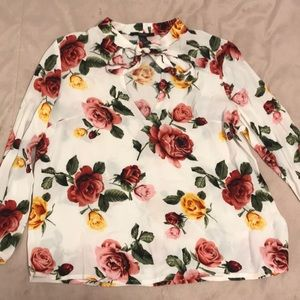 Forever 21 blouse long sleeve shirt